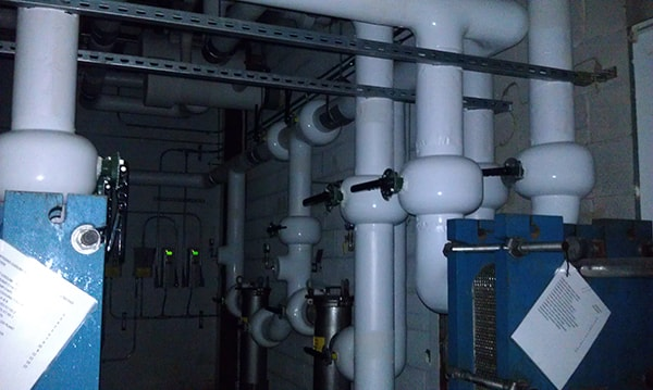 Process Water Piping