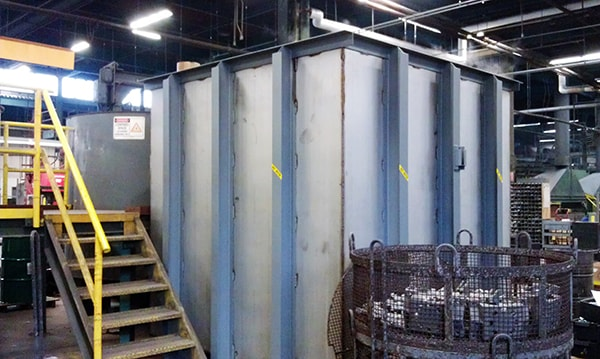 Fabrication and Installation of Quench Tank